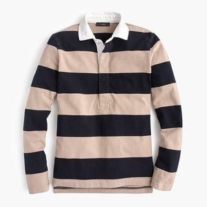 J. Crew rugby polo shirt